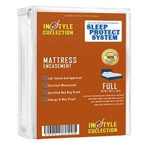 Zippered mattress Encasement beed bug proof